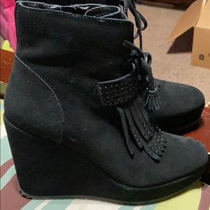 Black Booties. New Without Tags!